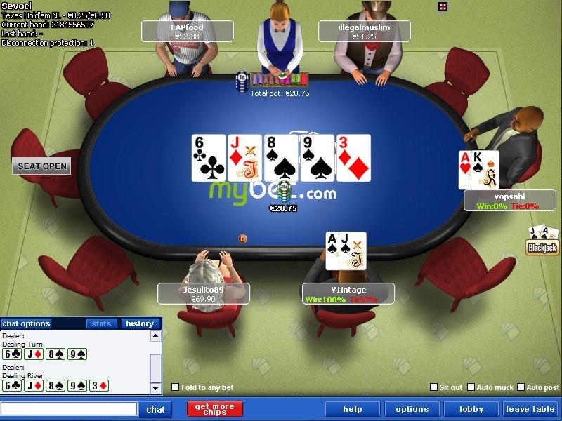 Mybet Poker