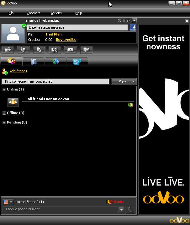 Download ooVoo 3695 - FileHippocom