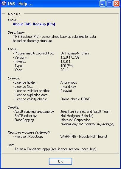 TMS Backup latest version - Get best Windows software