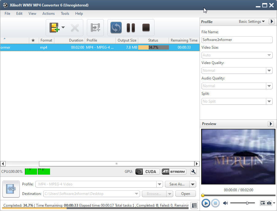 Convert MP4 to WMV (Online Free ) - Evano