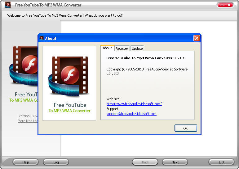 WMA converter online, free audio to .wma changing