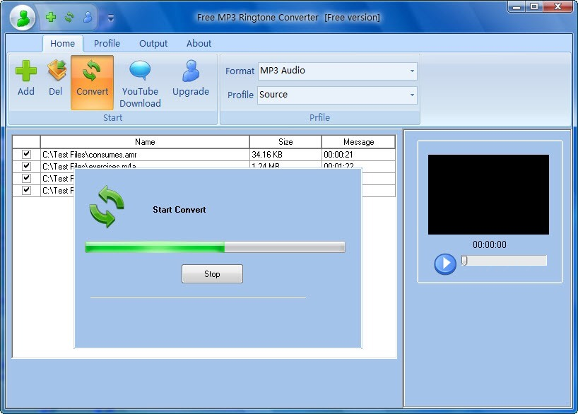Free MP3 to Ringtone Converter - Create Free MP3 Ringtones from your own MP3's