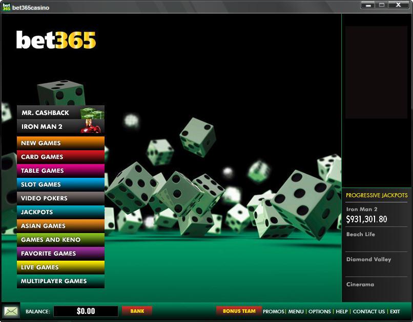 Download Bet365 Casino