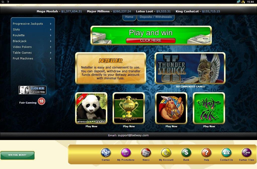 Betway Com Casino