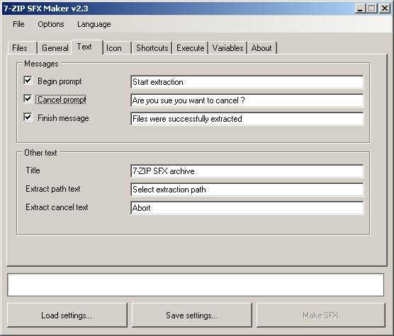 7-Zip SFX Maker latest version - Get best Windows software