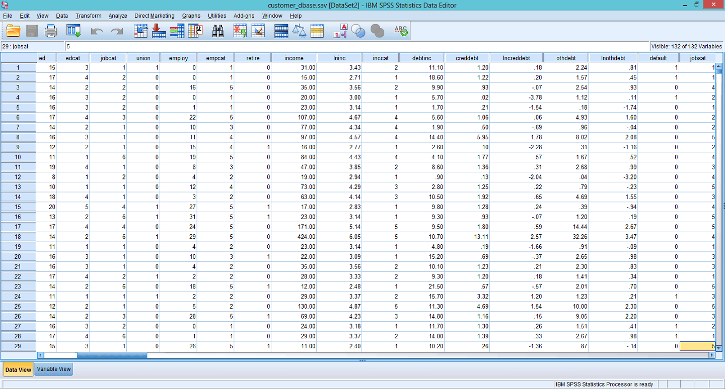how to find percentile rank on spss