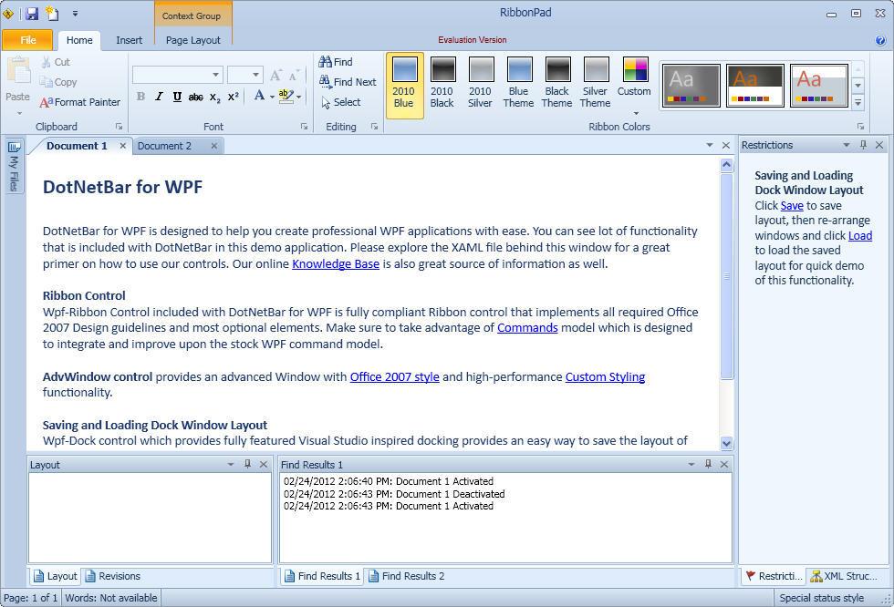 DotNetBar for WPF latest version - Get best Windows software