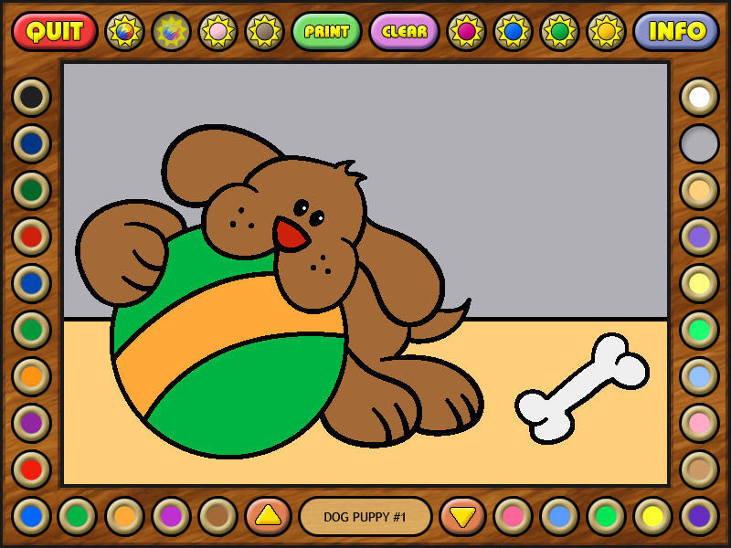 Free Coloring Book 10 Baby Animals