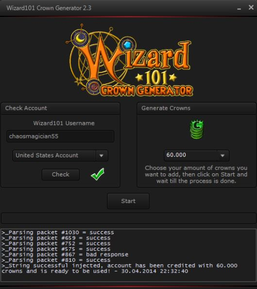 Wizard101 Crown Generator download for free - SoftDeluxe