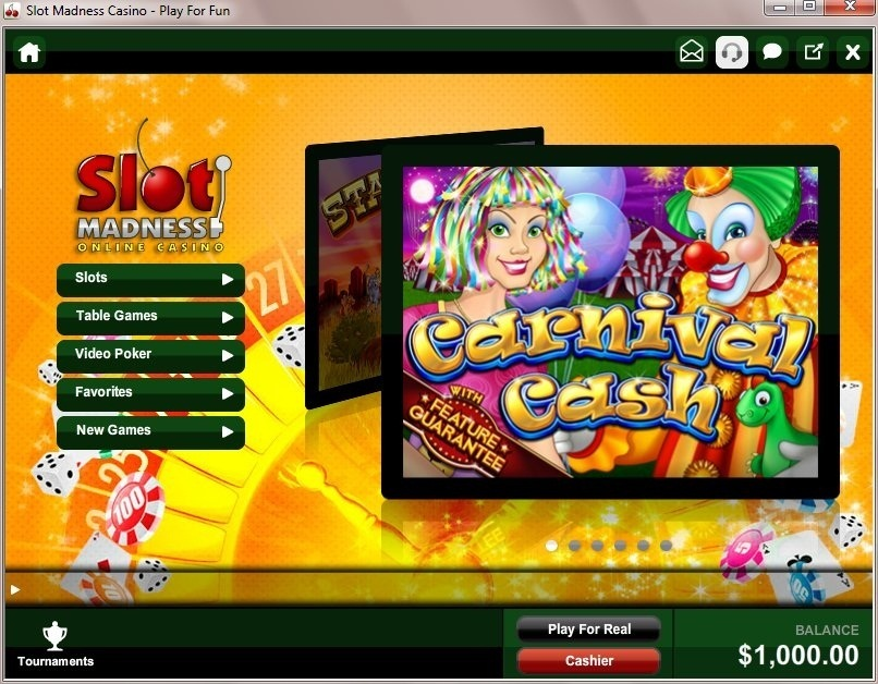 Enjoy The Circus Madness Slots With No Download