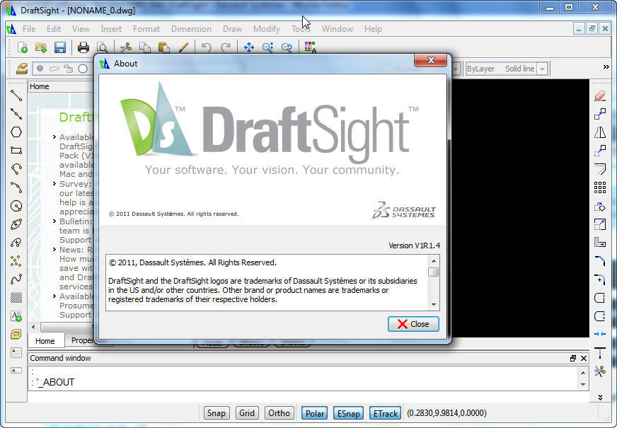 DraftSight latest version - Get best Windows software
