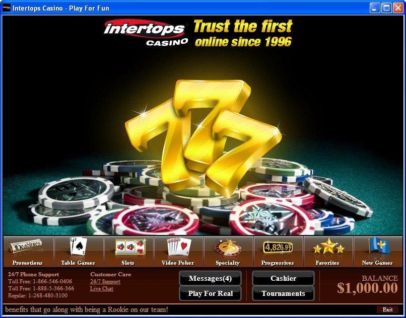 Intertops Casino Erfahrungen