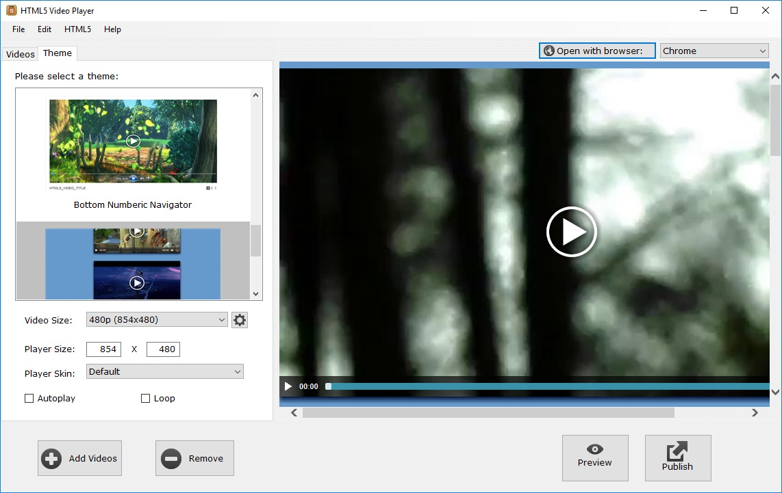 HTML5 Video Player download for free - SoftDeluxe