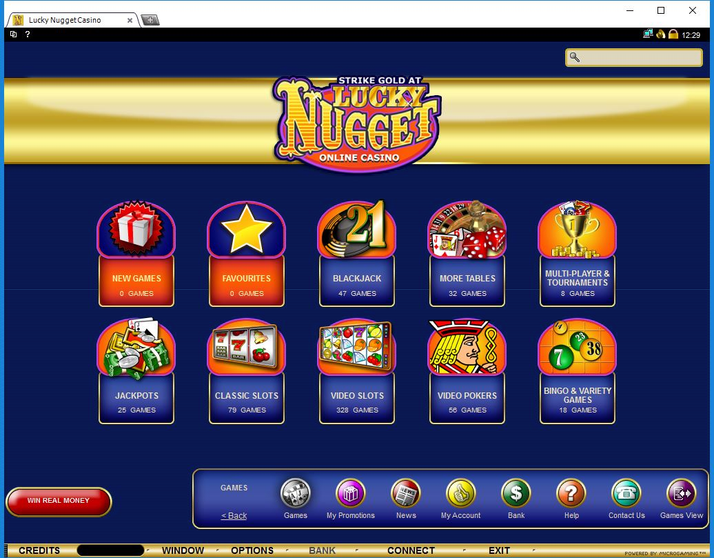 Lucky Nugget App Download