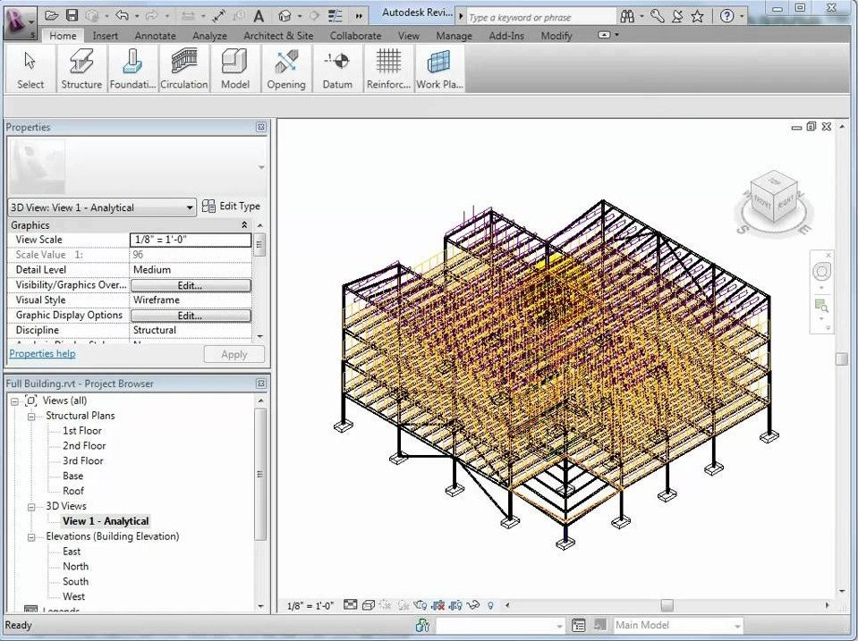 SI Xchange for Revit Structure and STAAD Pro download for free