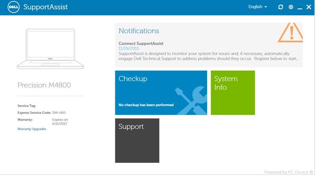 Supportassist Windows 10