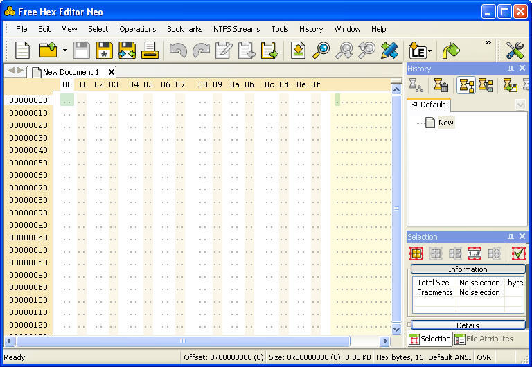 HHD Software Hex Editor download for free - SoftDeluxe