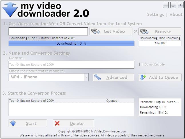 My Video Downloader latest version - Get best Windows software