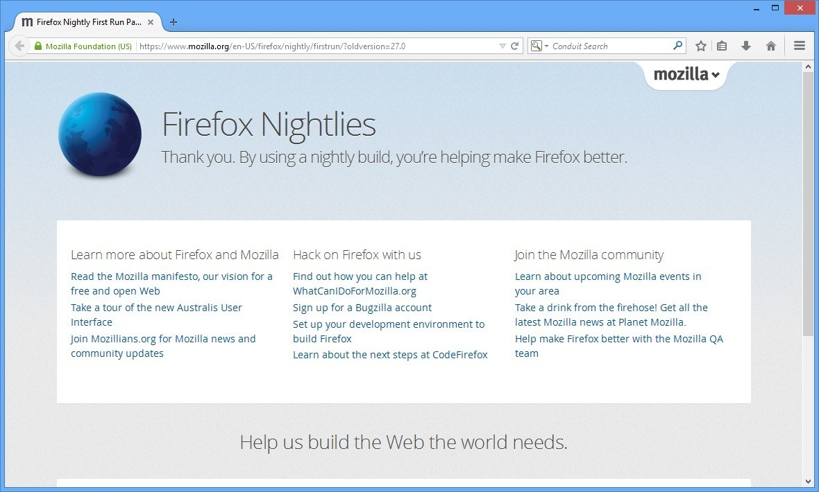 Firefox Nightly latest version - Get best Windows software