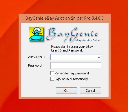 BayGenie eBay Auction Sniper Pro Edition (free version ...