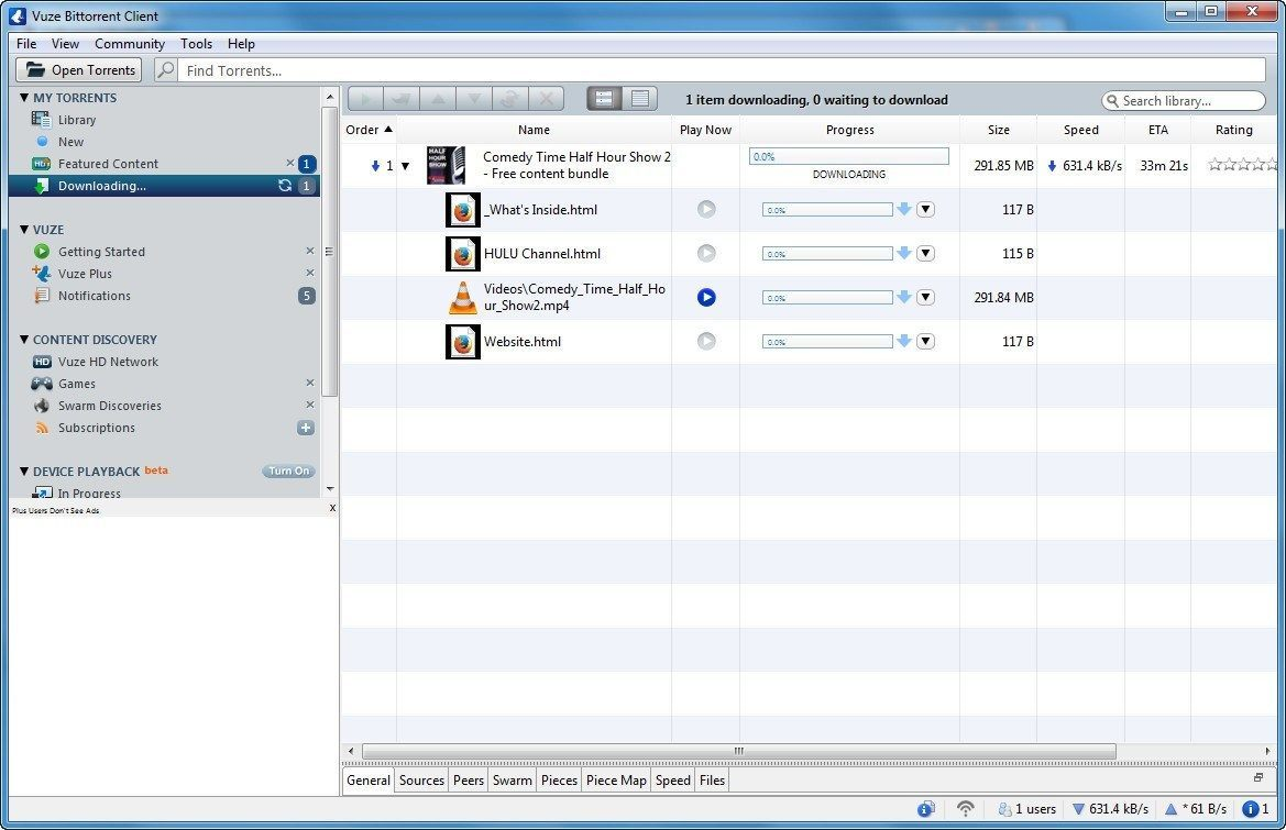 Vuze latest version - Get best Windows software