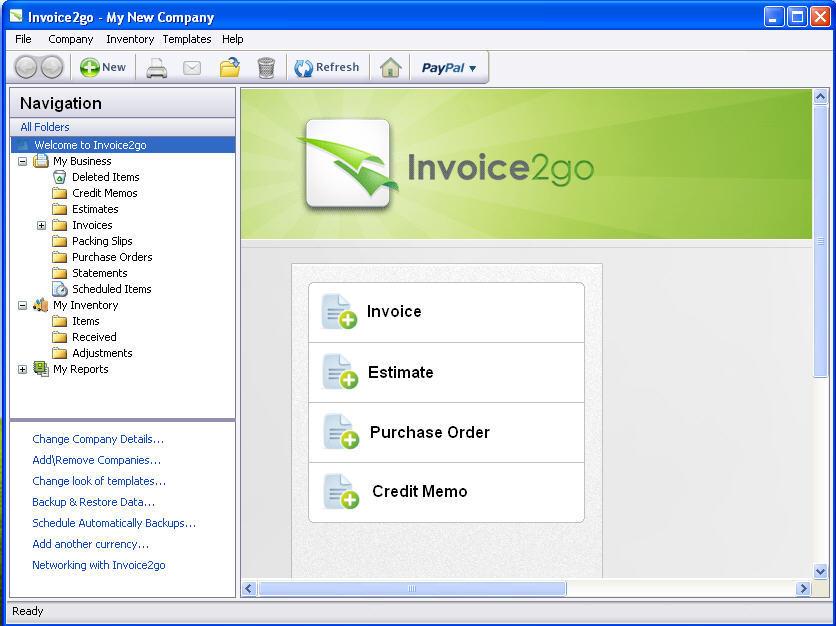invoice2go screenshot 1