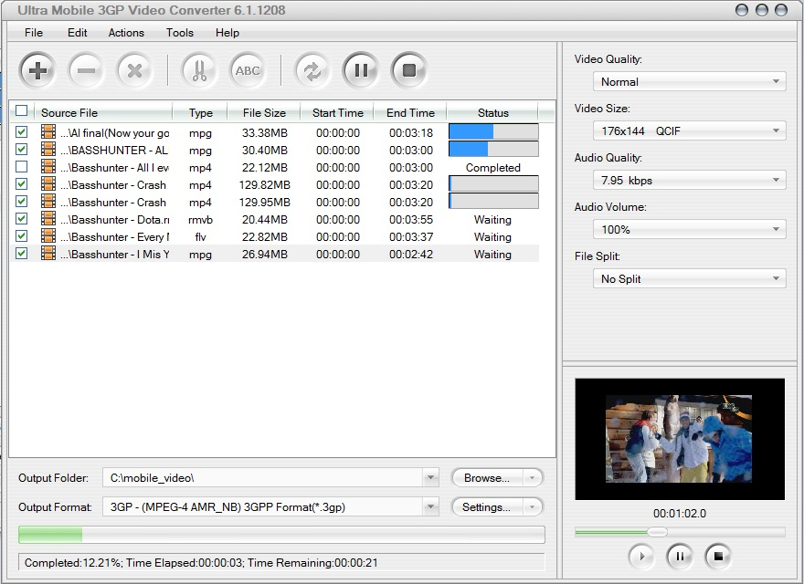 Ultra Mobile 3Gp Video Converter Download For Free -9407