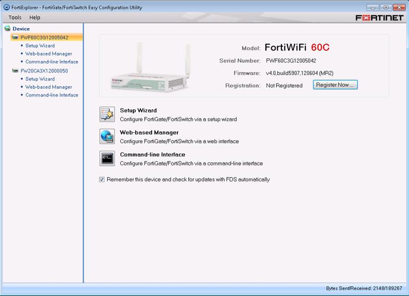 FortiExplorer latest version - Get best Windows software