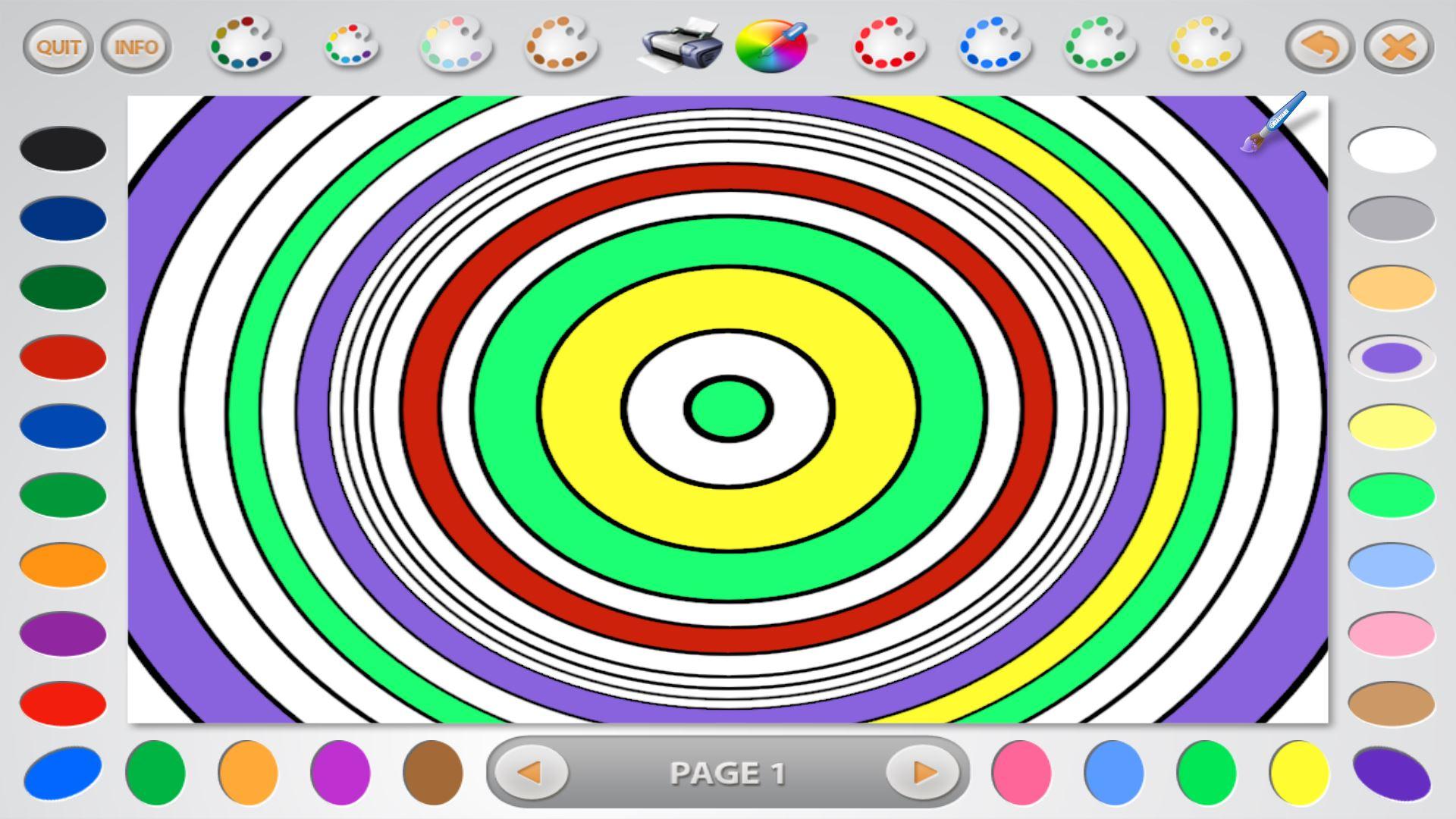 Coloring book kea - Coloring Book 26 Lite Screenshot 1