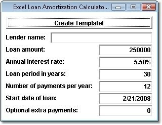 amortization calculator for personal loan