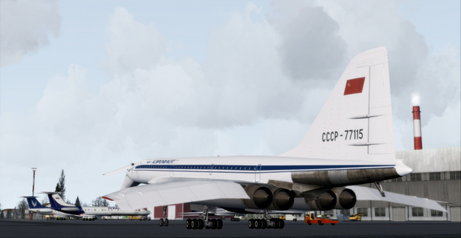 Download free Project Tupolev Tu-154M 201