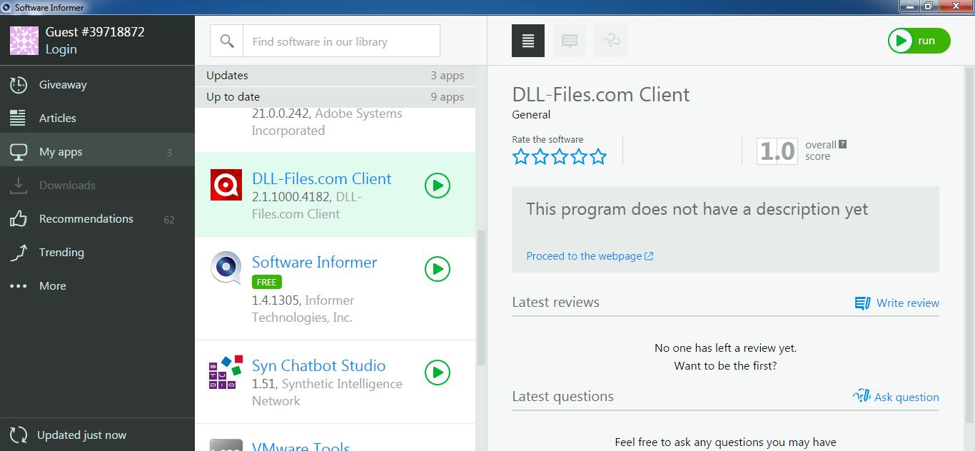 DLL-Files.com Client latest version - Get best Windows ...
