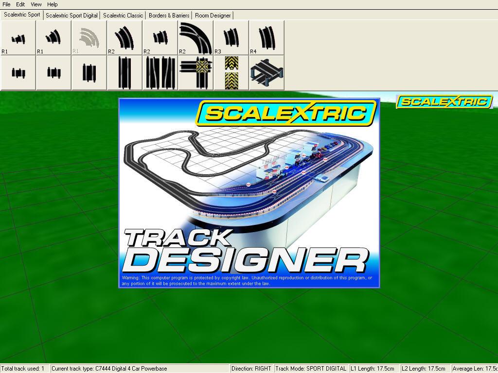 Scalextric Track Designer для Windows скачать бесплатно на