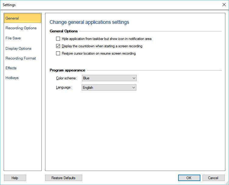 My Screen Recorder Pro latest version - Get best Windows