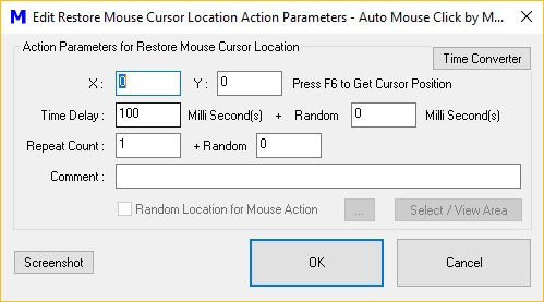 Auto Mouse Click download for free - SoftDeluxe